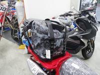 入荷しました・・・CT125 アウトドアソフトバッグ - バイクの横輪