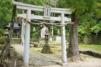 紀伊半島熊野古道中辺路、滝尻王子 - 旅の備忘録