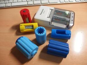 乾電池アダプター -