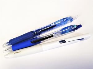 油性の青ボールペンの魅力を考える会・その5(忘れた頃にこんにちは)。 - 無罫フォント