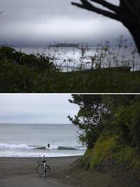 2020/10/11(SUN) 台風が去り波を期待したが.........。 - SURF RESEARCH