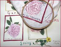 イラストレーションを刺繍に - la maison de SŒURS