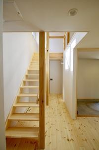 スリット階段/土間のある家・松戸市K邸 - K+Y アトリエ一級建築士事務Blog