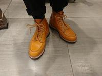 レッドウィングおろしました - シューケアマイスター靴磨き工房 銀座三越店