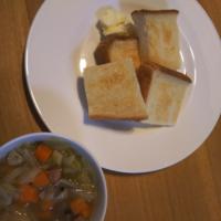 ミネストローネっぽいスープと、クリームあんみつ - Hanakenhana's Blog