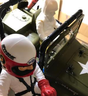 ワイルドウイリー2XB ドライバー人形交換 - Black Fantom