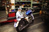 月曜日の授業風景~1963 TRIUMPH T120 エンジン始動~ - Vintage motorcycle study