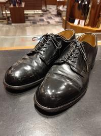 70s U.S.NAVY Service Shoes - シューケアマイスター靴磨き工房 銀座三越店