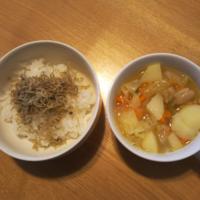 ちりめん山椒、ミネストローネ - Hanakenhana's Blog