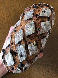くるみとレーズンのカンパーニュ - slow life,bread life