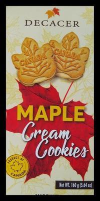 DECACER(デカセール)メープルクリームクッキー と、白ごはん.com - 空を見上げて