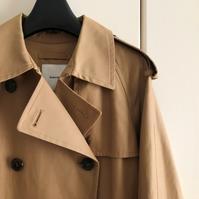 トレンチコートをゲット - 晴れ好き女の衣生活メモ