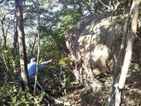 願いが叶うゴトゴト岩と今年の秋の山の状況 - 大朝=水のふる里から