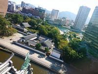 小倉城からの眺め 東側 - NATURALLY