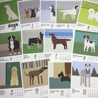 dogs calendar 2021 - A DEVICE & PLAY