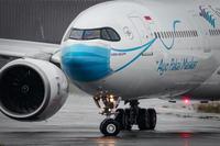 2020/10/9 Fri. RJTT 羽田空港 - Garuda Indonesia Ayo Pakai Masker Livery - - PHOTOLOG by Hiroshi.N