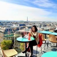ギャラリーラファイエット屋上から、ラソース神戸インスタライブ 無事終了 - keiko's paris journal                                                        <パリ通信 - KSL>