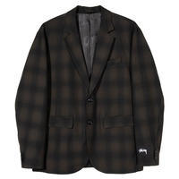 Stussy Shadow Plaid Sport Coat - trilogy news