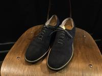 50's FREEMAN blue suede shoes - BUTTON UP clothing