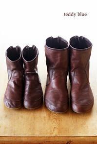 Boots in season!  ブーツの季節 - teddy blue