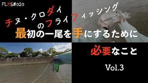 チヌ・クロダイのフライフィッシング 最初の一尾を手にするために必要なこと 第三弾! - Flyfishing likes a rolling stone.