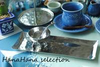 ステンレス製の長方皿とソースボウル - HanaHana Selection