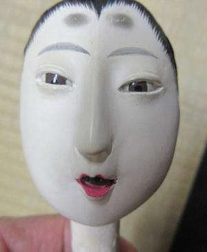 雛人形髪付け -