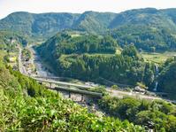 慈恩の滝俯瞰(2010年10月) - ポン太の写真帳別館