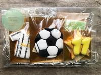 サッカー少年のお誕生日クッキー - 東京都調布市菊野台の手作りお菓子工房 アトリエタルトタタン