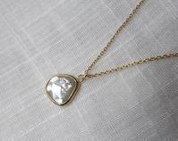 ミルキースライスダイヤモンドネックレス - hiroe  jewelryつくり