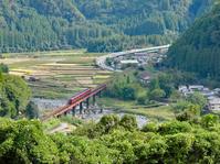 第5玖珠川橋梁を俯瞰する(2010年10月、2009年10月) - ポン太の写真帳別館