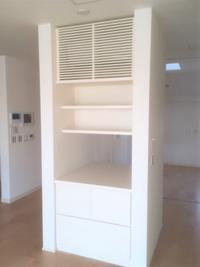 両面使い間仕切収納 - オーダー家具の現場レポート