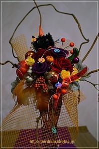 ハロウィンアレンジ作りました♪ - 花・tuzuri