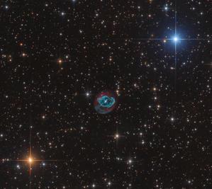 はくちょう座の形の惑星状星雲Abell78 - 秘密の世界        [The Secret World]