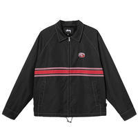 Stussy Stripe Zip Jacket - trilogy news