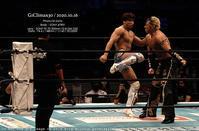 新日本プロレスG1CLIMAX Aブロック 飯伏幸太 vs タイチ#njpw #G1CLIMAX30 - さいとうおりのお気に入りはカメラで。