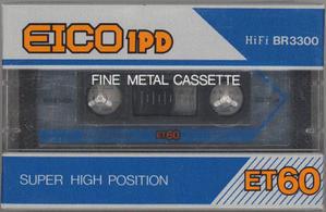 EICO1PD ET - カセットテープ収蔵品展示館