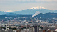 御嶽・乗鞍・中央アルプス初冠雪 - 千種観測所