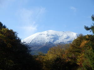 浅間山初冠雪 - あるちゅはいま日記