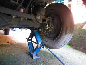 タイヤ交換 -