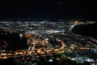 短期集中 北海道TRIP2 函館山 - N・Photograph & My Super CUB110 【新・写真とスクーター】