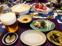 マグロのサクdeセルフ寿司とタタキ! - ワタシの呑日記