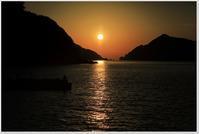 18日の夕日 - ハチミツの海を渡る風の音