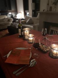 【週末の夫婦二人のキャンドルディナー】 - Plaisir de Recevoir フランス流 しまつで温かい暮らし