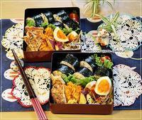 鮭と大葉で海苔巻き弁当とリーちゃん♪ - ☆Happy time☆