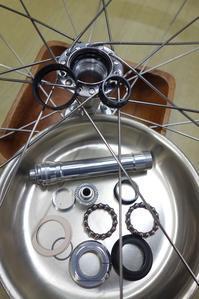 ちょっと前のカンパニョーロ レコードハブをメンテナンスするの巻ロードバイクPROKU -   ロードバイクPROKU