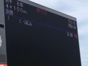 福井県ジュニア目標記録突破6年男子リレー - ピース(P-is)アスリートクラブ(陸上クラブ)ブログ