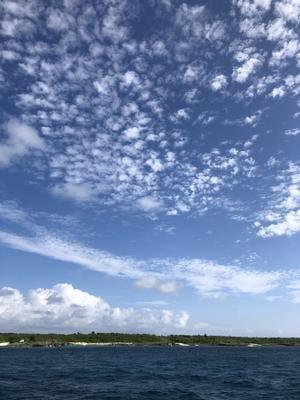 ウロコ雲         宮古島 - たのしくいこぉ