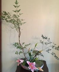 宅配の花で生け花 - アバウトな情報科学博士のアメリカ