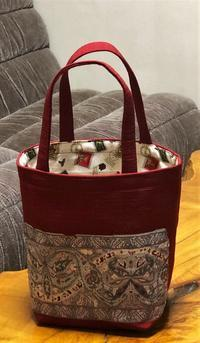 帯を使ってバッグを縫いました - 自然の中でⅡ